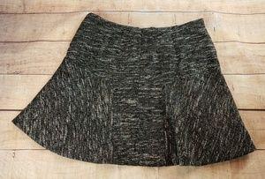 J Crew Flared Skirt in Tweed